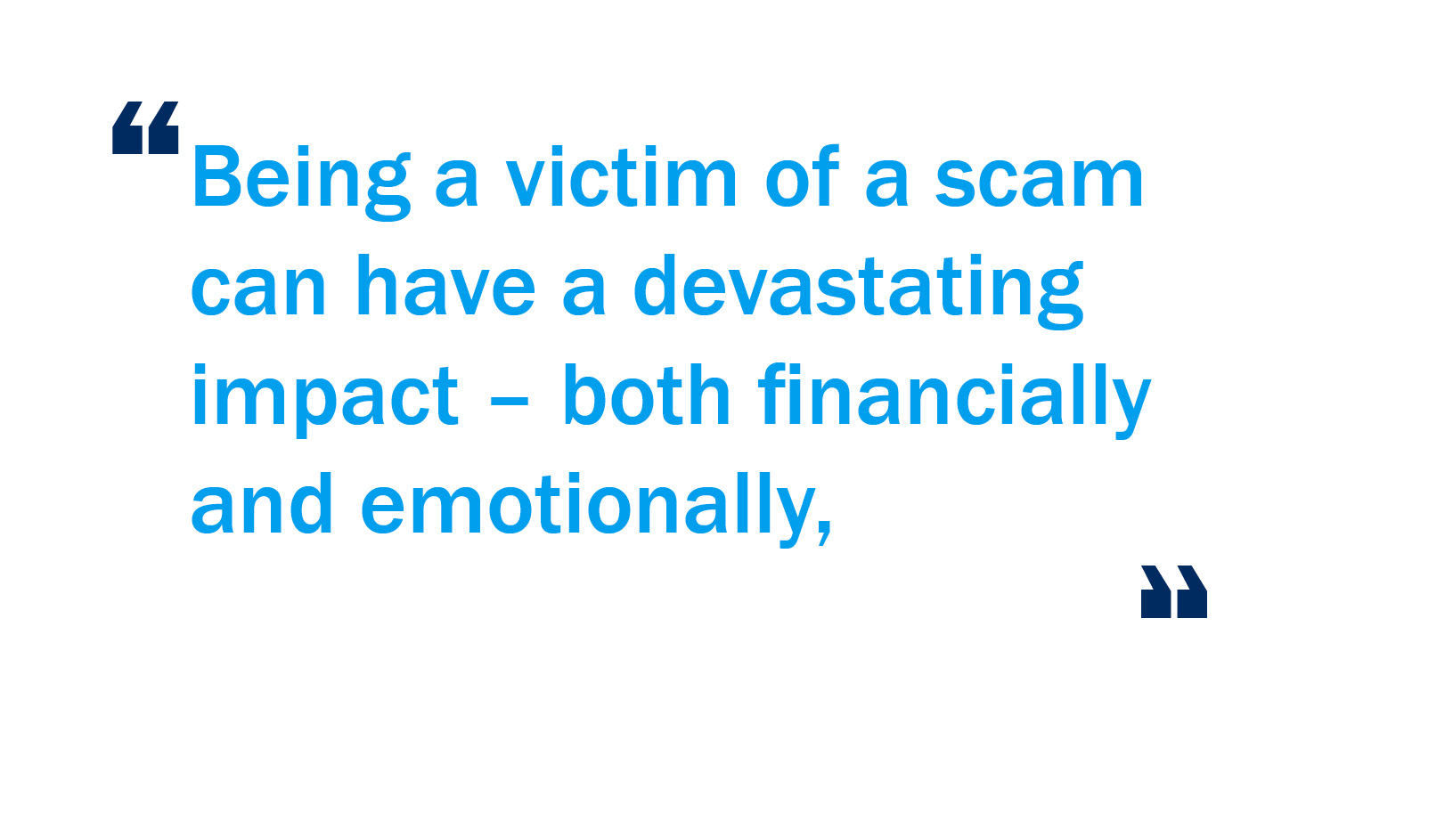 Fighting scams