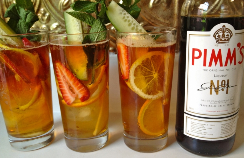 Pimm's and more