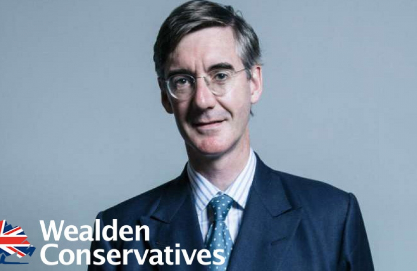 Jacob Rees-Mogg comes to Wealden