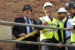 Cllr Chris Hardy, Cllr Graham Wells, Andy Vincent, Marcus Corey, Managing Director Trinity Homes.jpg