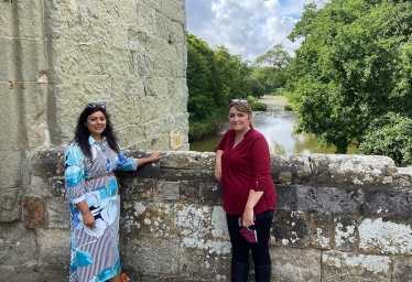 Progress on Michelham Priory welcomed by Wealden's MP, Nus Ghani